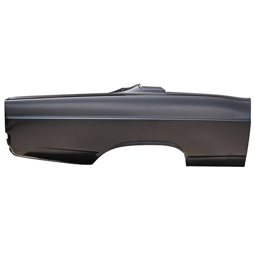 QUARTER PANEL 1967 FORD FAIRLANE 2-DOOR HARDTOP 500 XL GT EDP-COATED STEEL RIGHT-HAND PASSENGER SIDE (C7OZ-6327840A)