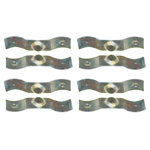 AIR CONDITIONER REGISTER CLIPS - SET OF 8 - 1963-67 FORD GALAXIE 1963-70 FAIRLANE FALCON 1965-66 MUSTANG WITH HANG-ON UNIT (C3AZ-19A683K)