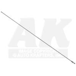 ANTENNA MAST 1973 FORD MUSTANG 1973-76 THUNDERBIRD 1977-79 PINTO 1978-79 BOBCAT STAINLESS STEEL WHIP-TYPE (D3AZ-18A886)