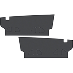 TRUNK FILLER BOARDS 1971-73 MERCURY COUGAR HARDTOP XR-7 WHEELHOUSE-TO-TAILLIGHT PANEL LH RH SIDE-EXTENSION PAIR (CG134)