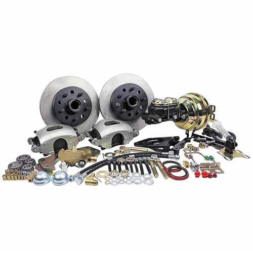 POWER DISC BRAKE KIT 1959-69 GALAXIE LTD COUNTRY SQUIRE 1957-61 FAIRLANE 1957-69 MONTEREY COLONY PARK (DB1513P)