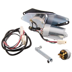 WIPER MOTOR 1956-60 FORD F-SERIES F-100 F-250 F-350 PICKUP TRUCK ELECTRIC 12V 2-SPD WITH WIRING AND SWITCH (B6C-17508RR)