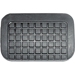BRAKE AND CLUTCH PEDAL PAD - 1957-62 F-SERIES (B7C-2457A)